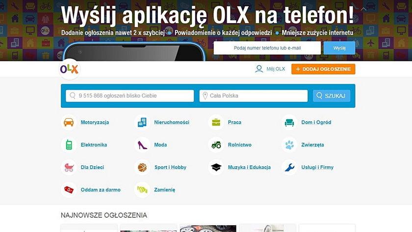 Twa kolejny atak na klientów portalu OLX.