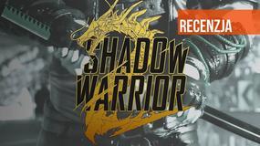 Shadow Warrior 2 - wideorecenzja. Jak nie kataną go, to strzelbą