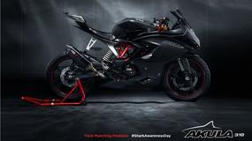 TVS na poważnie przedstawia sportowy motocykl na bazie BMW G310R