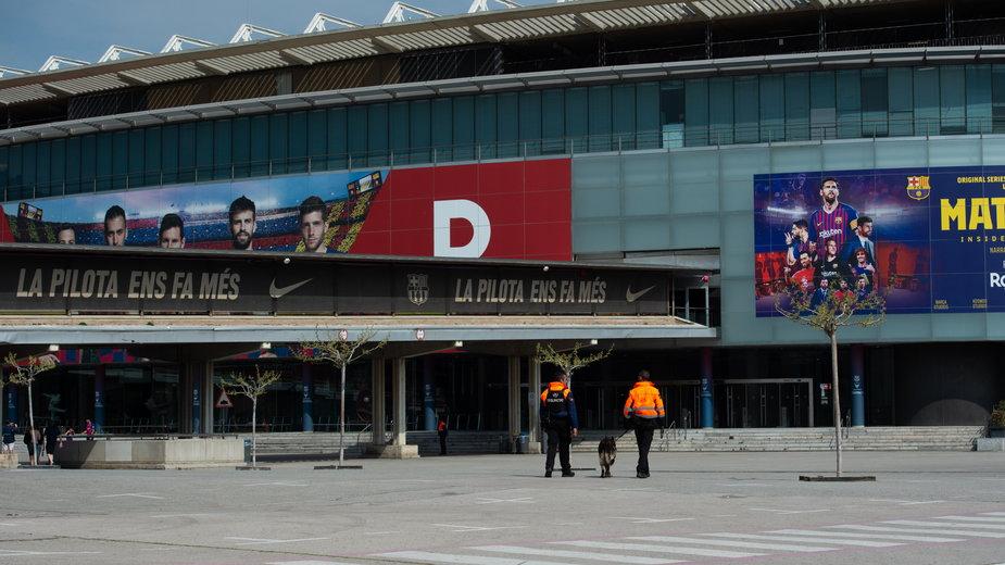 Okolice stadionu Camp Nou, Barcelona