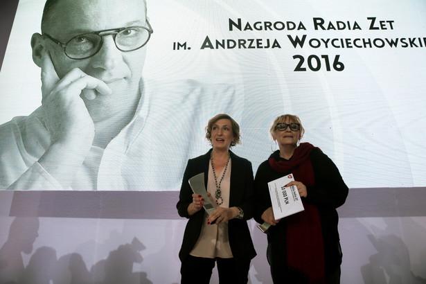 """Dziennikarki stołecznego dodatku """"Gazety Wyborczej"""" Iwona Szpala i Małgorzata Zubik"""