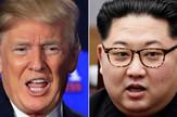 Donald Tramp i Kim Džong Un AP