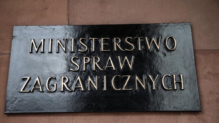 Ministerstwo Spraw Zagrnicznych