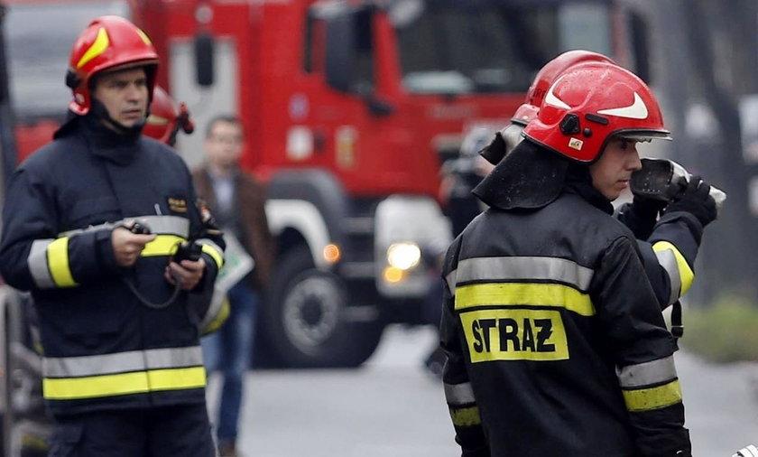 Pożar w Stalowej Woli