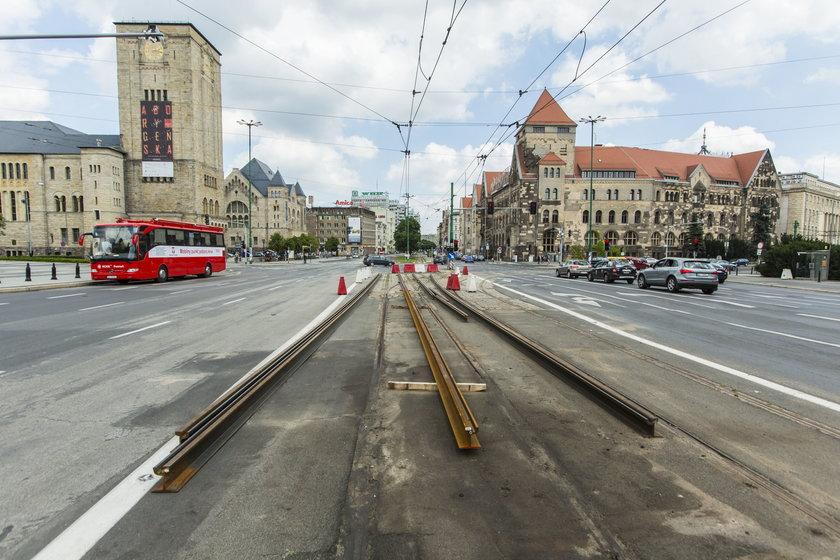 Ruszył remont na skrzyżowaniu Św. Marcin/Niepodległości