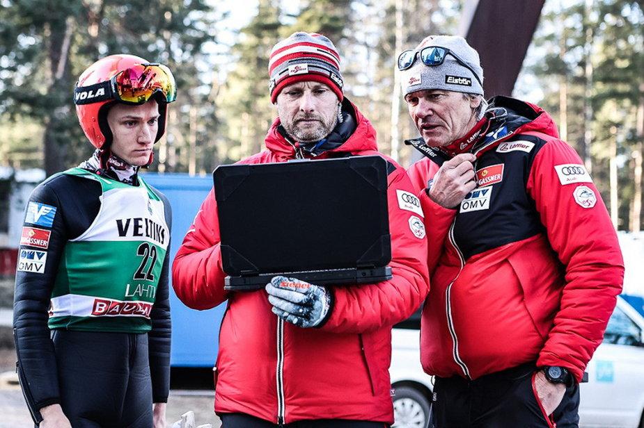 Stefan Huber, Robert Treitinger i Andreas Felder