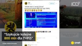 """TVP wyemitowała """"Wielki Test o Jasnej Górze"""". Mocne komentarze widzów"""