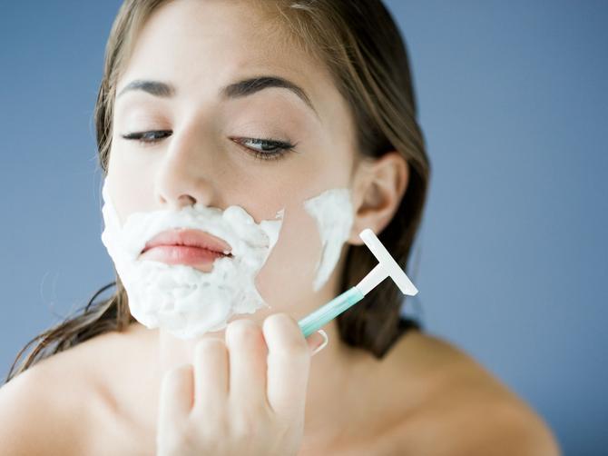 Obrijala sam lice i to je najgora stavar koju sam uradila IKADA