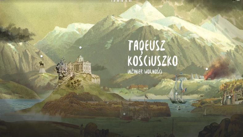 Muzeum Kościuszki to pierwsze wirtualne muzeum zakrojone na taką skalę