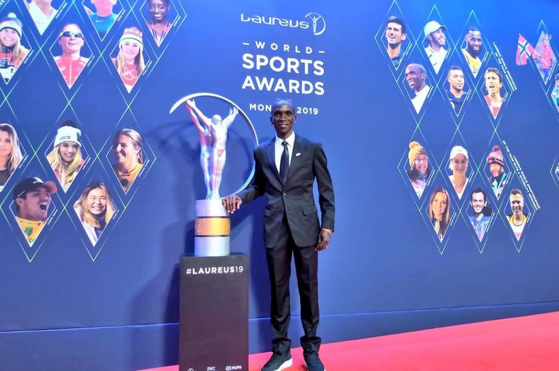 Eliud Kipchoge wins International Achievement award