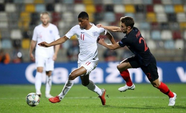 Marcus Rashford missed two big chances to hand England victory in Croatia
