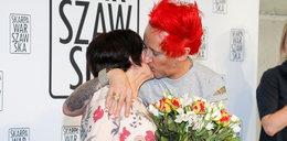 Grażyna Wiśniewska utonęła w objęciach syna. To był jej wielki dzień