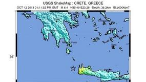 Silne trzęsienie ziemi na Krecie