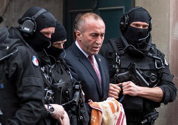 Ramuš Haradinaj čeka odluku suda o izručenju Srbiji u pritvoru u Francuskoj