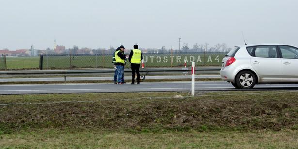 Incydent z udziałem prezydenta na austrostradzie A4