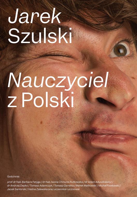 """""""Nauczyciel z Polski"""", okładka"""