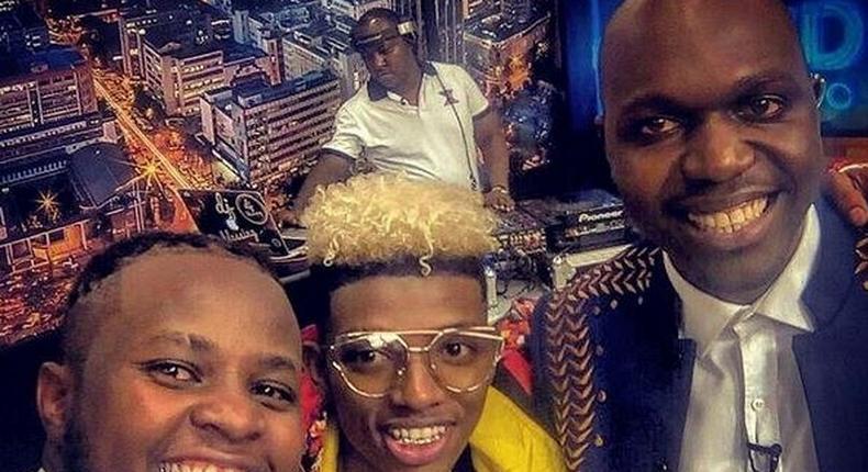 DK Kwenye beat, Masterpiece and Larry Madowo