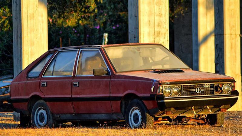 Rodos - auta sprzed lat