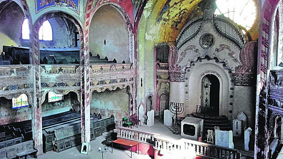 Ovako je Sinagoga izgledala pre obnove
