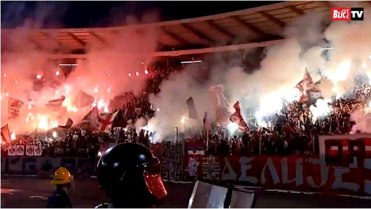 FK Crvena zvezda, FK Partizan, Delije
