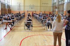Novi Sad316 polaganje male mature zavrsni ispit iz maternjeg jezika foto Nenad Mihajlovic