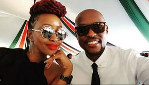 Janet Mbugua and husband Eddie Ndichu