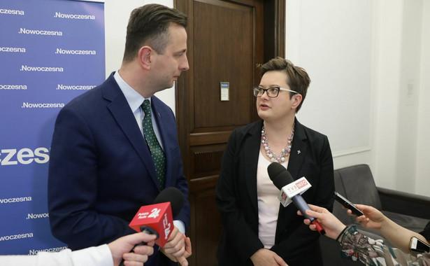 Władysław Kosiniak-Kamysz i Katarzyna Lubnauer