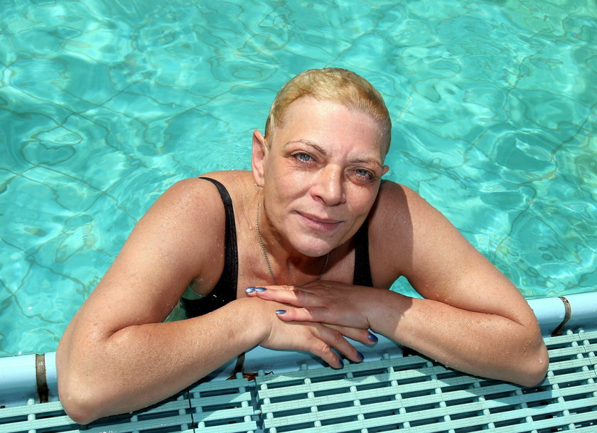 Dorota Stalińska w lipcu 2005 roku
