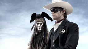 Johnny Depp jako tajemniczy Indianin Tonto WIDEO