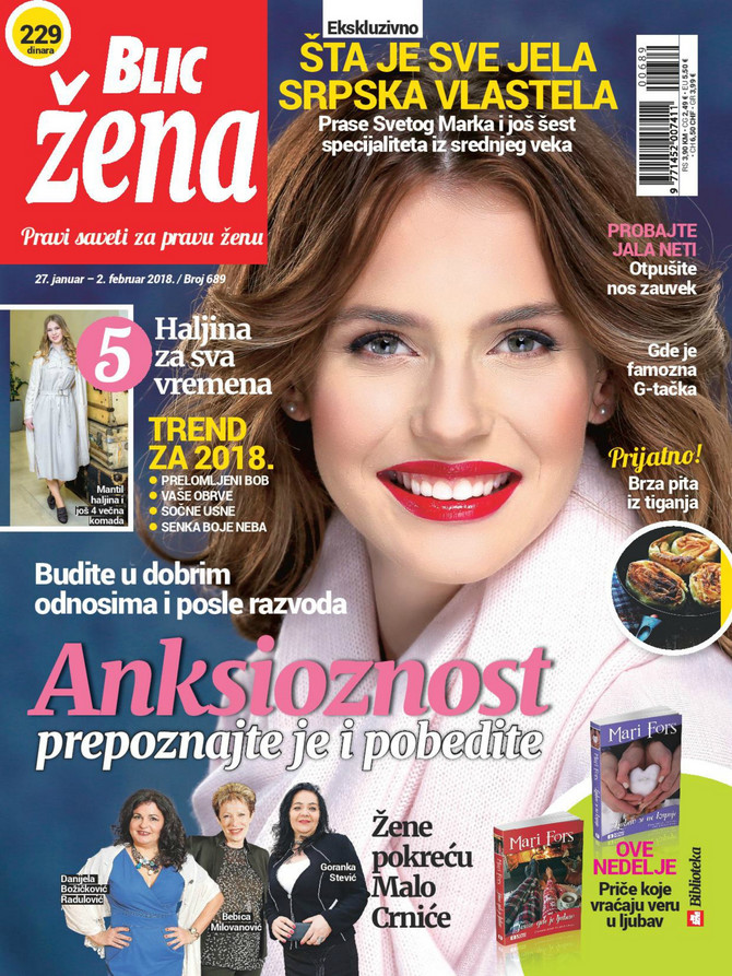 "U ""Blic ženi"" čeka vas i intervju sa dobitnikom NIN-ove nagrade za najbolji roman"