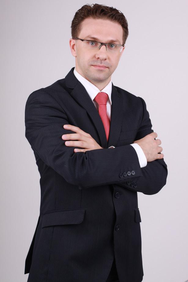 Marcin Lis, dyrektor pionu faktoringu w firmie Magellan, ekspert rynku faktoringowego