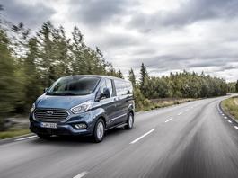 Ford Transit Custom – teraz jako hybryda typu plug-in