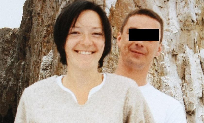 Adam Ł. z żoną Alicją