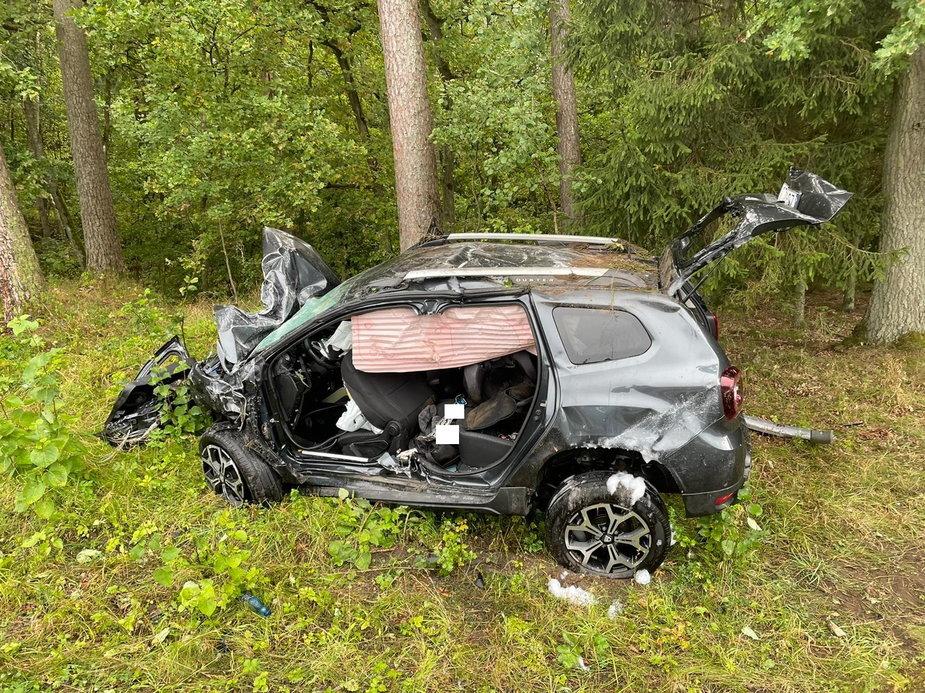 Tragiczny wpadek pod Starogardem. Służby kończą pracę.