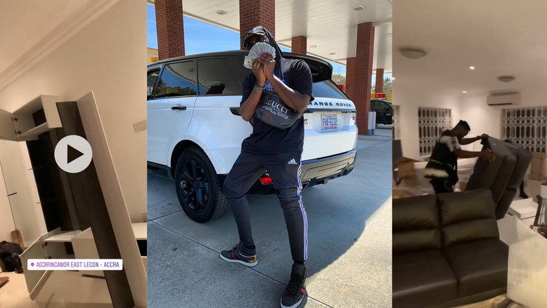 Medikal moves into a new mansion