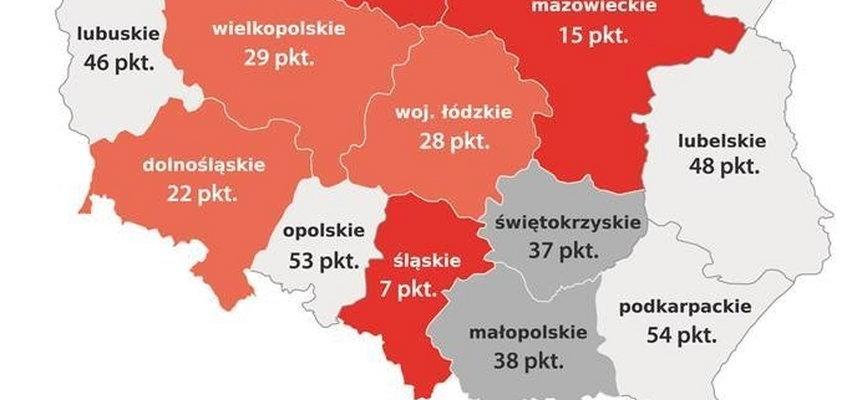 Zaskakujące dane dotyczące Śląska! Jest tu najgorzej w całej Polsce