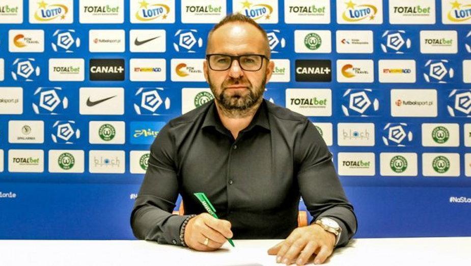 Trener Piotr Tworek