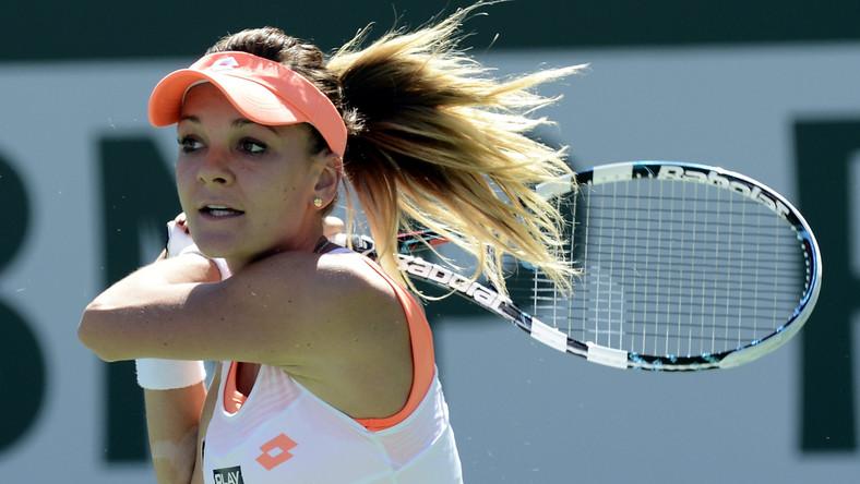 Agnieszka Radwańska w finale Indian Wells przegrała z bólem