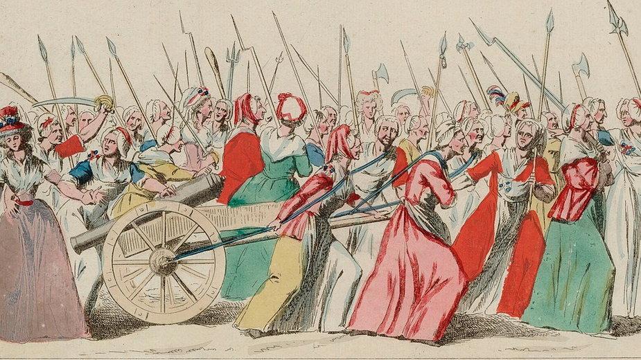Marsz kobiet na Wersal, 5 października 1789