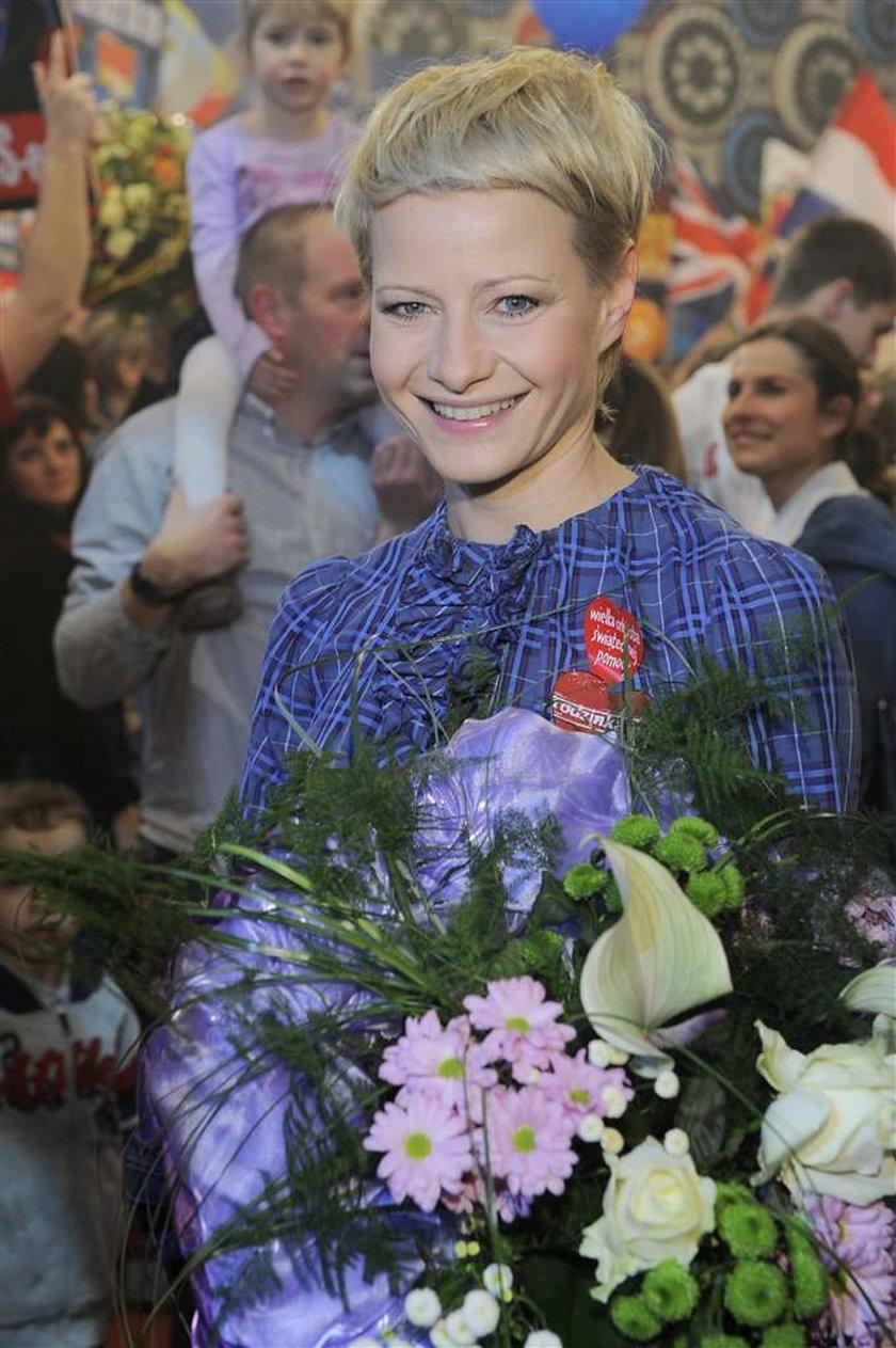 Kożuchowska dostała medal