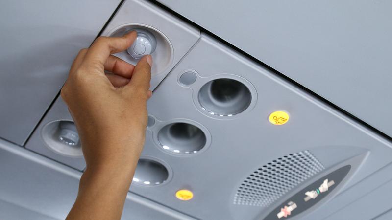 W samolocie lepiej nie wyłączać wentylacji