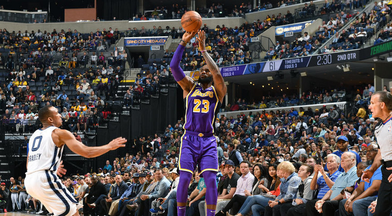 LeBron James enters NBA record books as Lakers suffer set back in race for playoff