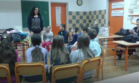 Tatjana Kovačev sa decom