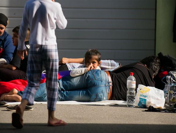 Migranti u Brežicama