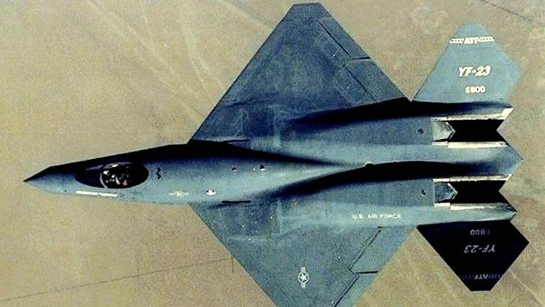 YF-23 to prototypowy myśliwiec piątej generacji, nad którym pracował Northrop oraz McDonnell Douglas