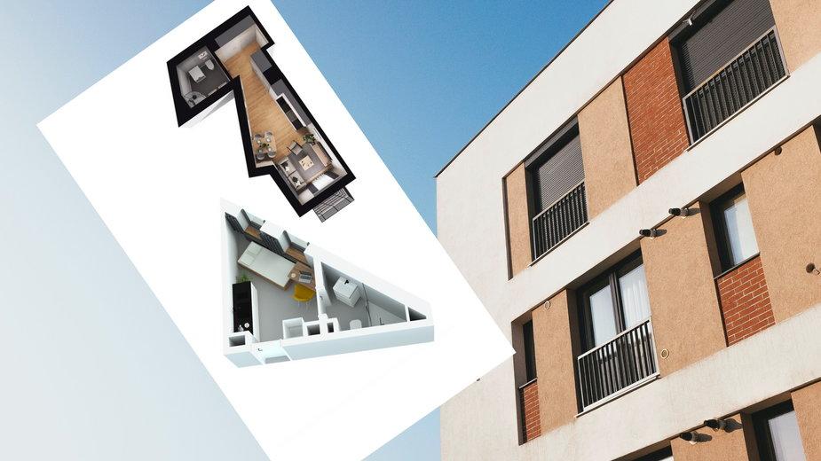 Deweloper sprzedaje mieszkania o powierzchni 12 m2