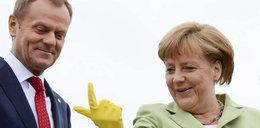 Co Merkel pokazała Tuskowi?