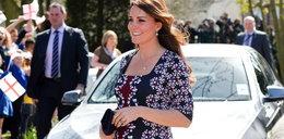 Tak księżna Kate wyglądała w ciąży z Jerzykiem