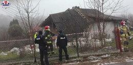 Wybuch gazu na Lubelszczyźnie. 77-latek ledwo uszedł z życiem