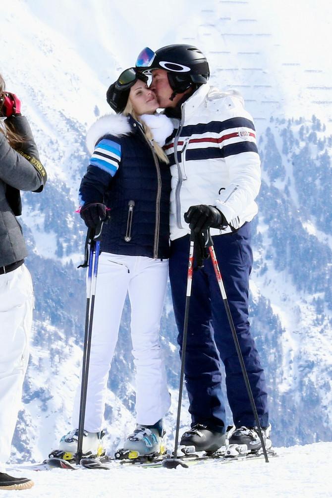 Elin i Klin 2016. na skijanju